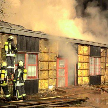 Brandursache: Vorsätzliche Brandstiftung!
