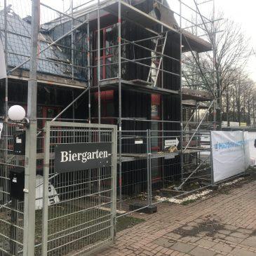 Sachstand Brandschaden Vereinsgebäude