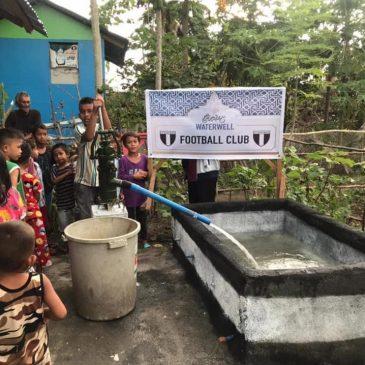 🇵🇭 4 Mannschaft spendet Brunnen 🇵🇭